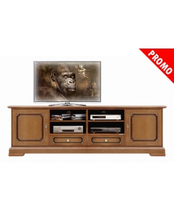 meuble base tv, promo meuble TV, achat meuble TV, meuble tv noyer