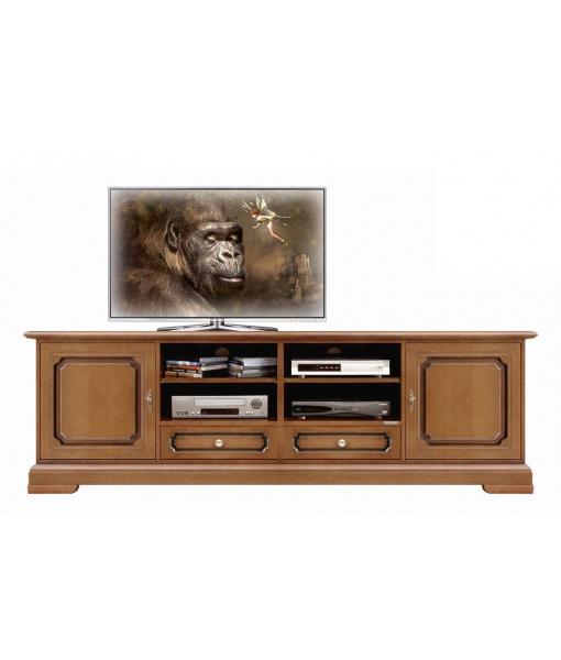 meuble base TV, meuble TV, achat meuble TV, meuble tv noyer