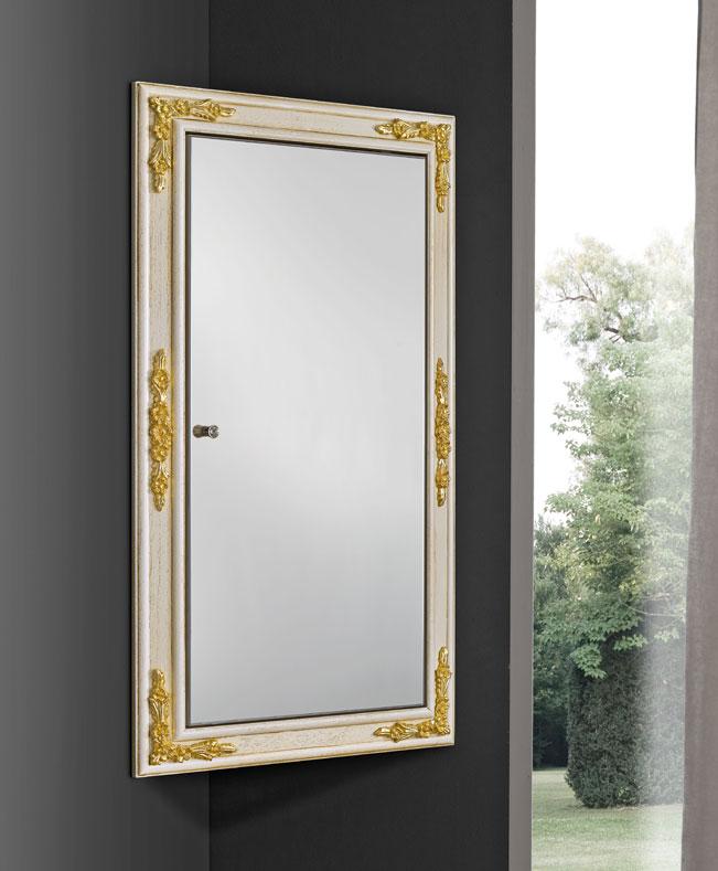 miroir d 39 angle avec rangement lamaisonplus. Black Bedroom Furniture Sets. Home Design Ideas