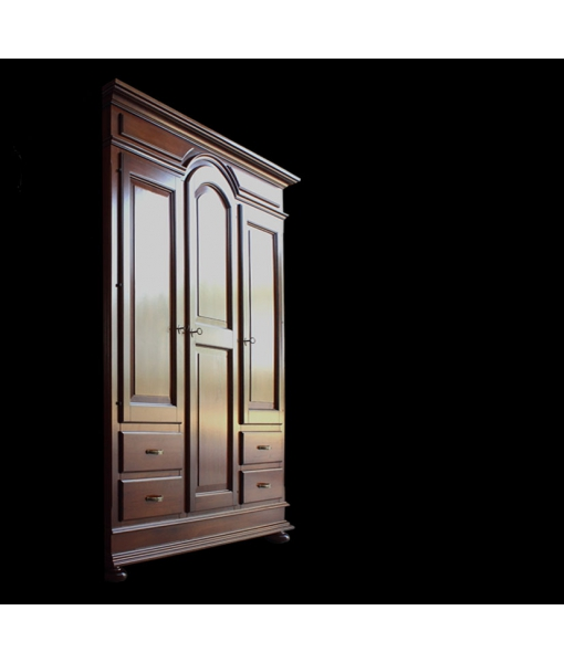 armoire penderie bois massif simple armoire finition. Black Bedroom Furniture Sets. Home Design Ideas