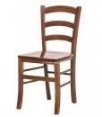 chaise traditionnelle, chaise en bois, chaise classique pour cuisine