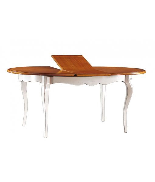Table ovale prolongeable, table ovale, table à manger ovale, table à manger rallonge, table ovale salle à manger