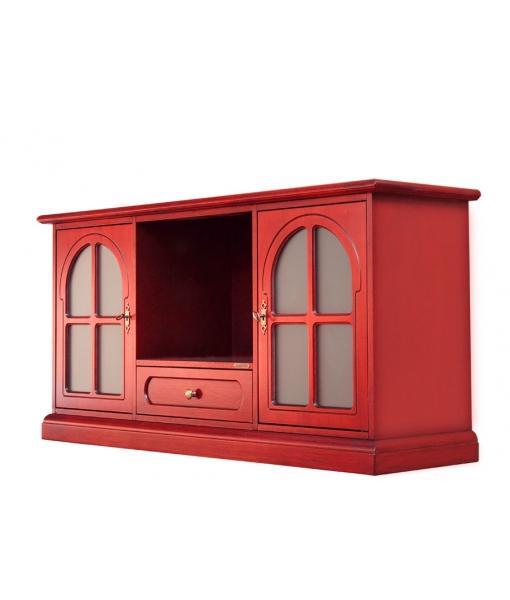 Meuble TV 130 cm réf. 4040-T-RED
