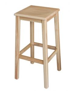 Tabouret bois naturel, tabouret couleur bois, tabouret pour ilot, tabouret de cuisine, tabouret de bar, tabouret bois massif, tabouret haut en bois, tabouret bas en bois