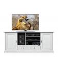 Meuble TV 160 cm Collection YOU,meuble tv blanc, meuble tv 160 cm, meuble tv pour salon blanc