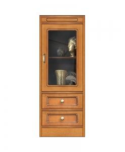 Collection « Compos » – Meuble 2 tiroirs et porte vitrée réf. CN-132