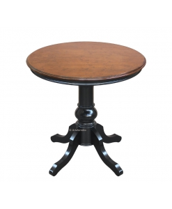 Petite table ronde classique 80 cm diamètre