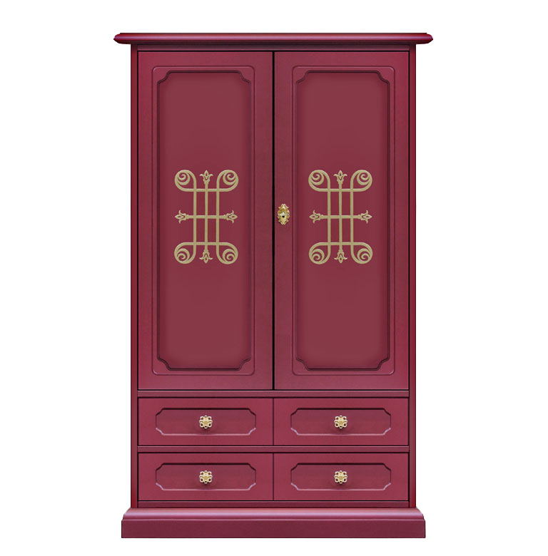 petite armoire de rangement couleur rubis collection you. Black Bedroom Furniture Sets. Home Design Ideas