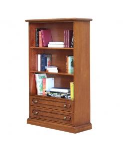 Petit meuble bibliothèque avec tiroirs