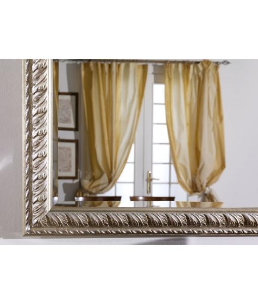 Détail miroir or argent bolus rouge réf. DB-0303