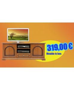 Meuble banc TV 150 cm réf. 3059-C
