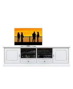 meuble tv, banc tv, meuble tv blanc, meuble tv blanc laqué