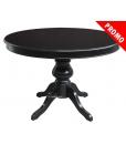 promotion table noire, table noir à manger, table noire en promotion, achat table noire petit prix