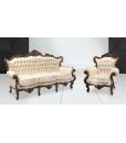fauteuil baroque, canapé baroque, meubles style baroque, meuble classiques pour salon