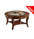 table basse ronde, table de salon ronde, table basse de salon en promotion, déstockage meubles maison