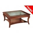 table carrée de salon, table basse de salon en promotion, table basse promotion