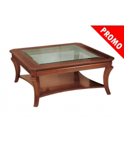 table carrée de salon, table basse de salon en promotion, table basse promotion