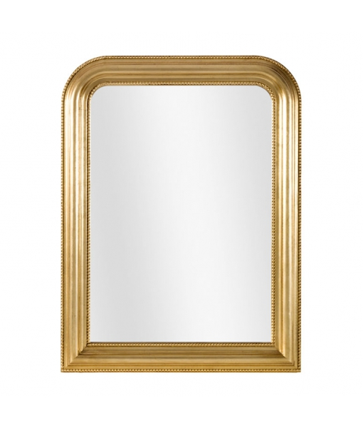 Miroir classique doré à la feuille réf. DB-774