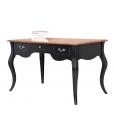Bureau style provençal bicolore, bureau classique, meuble bureau, bureau bicolore, bureau style classique en bois