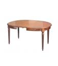 PROMO ! Table ovale Style Louis XVI 130 – 170 cm réf. fv-39-1AL