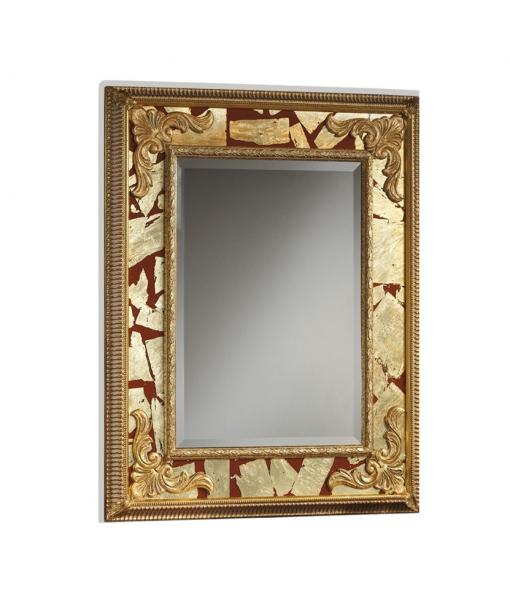 Miroir rectangulaire réf. red-gold
