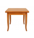 Table de repas carrée 80x80 cm, Réf. 20280-TIR
