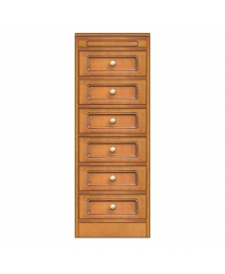 Collection « Compos » - Chiffonnier 6 tiroirs réf. CN-118