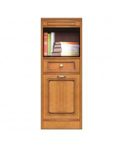 Collection « Compos » - Meuble buffet avec niche bibliothèque réf. CN-119