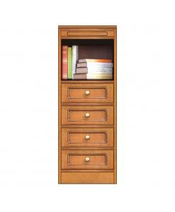 Collection Compos meuble de rangement avec 4 tiroirs et niche