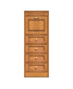 Collection compos meuble de rangement 4 tiroirs et porte