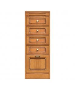 Collection compos meuble de rangement avec tiroirs et petite porte