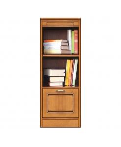 Collection compos petite bibliothèque avec porte
