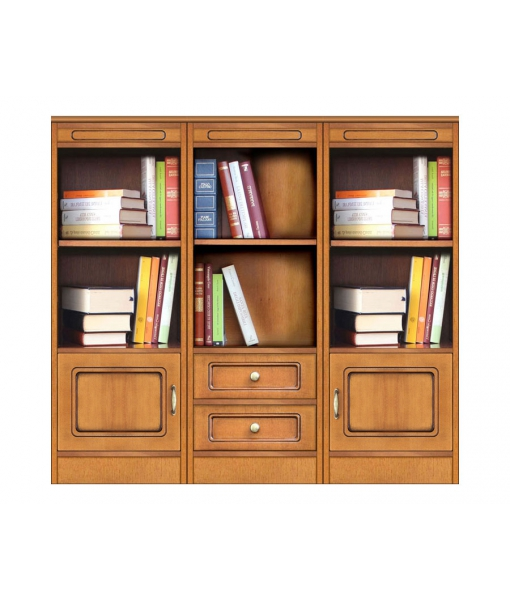 Meuble bibliothèque modulaire « Compos-3A » réf. COMPOS-3A