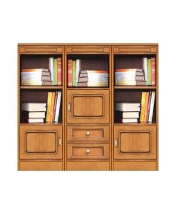 Meuble bibliothèque modulaire « Compos-3D » réf. COMPOS-3D