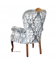 Fauteuil dossier large, achat fauteuil chez le fabricant, made in italy