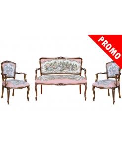 roméo et juliette, arteferretto, made in italy, ensemble pour salon, canapé et fauteuils assortis