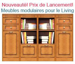 Découvrez notre nouvelle collection de meubles modulaires