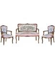 fauteuil et canapé, ensemble pour salon, made in italy