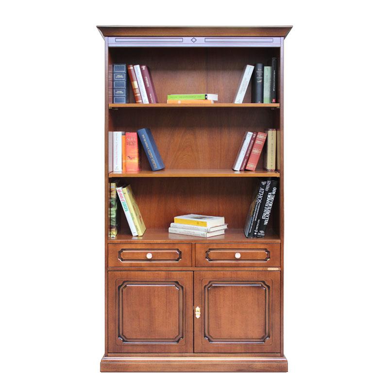 meuble biblioth que bois 190 cm hauteur lamaisonplus. Black Bedroom Furniture Sets. Home Design Ideas