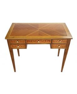 Bureau écritoire, bureau style classique, bureau petite taille