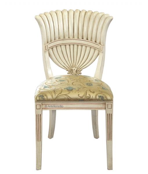chaise coquille, chaise unique, meubles pièces uniques, meubles de collection