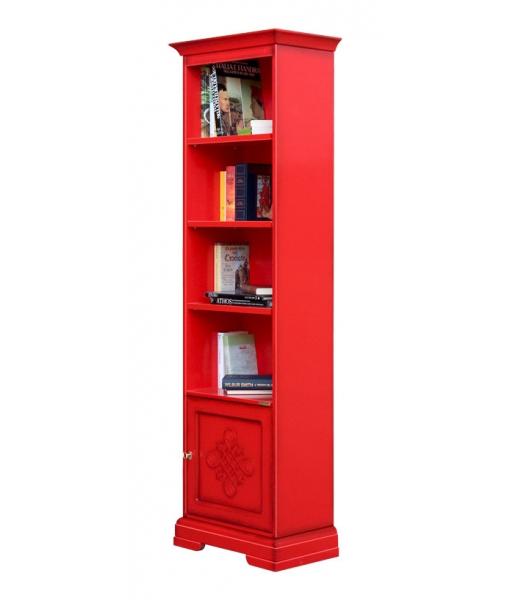 Promo rouge - Bibliothèque avec frise