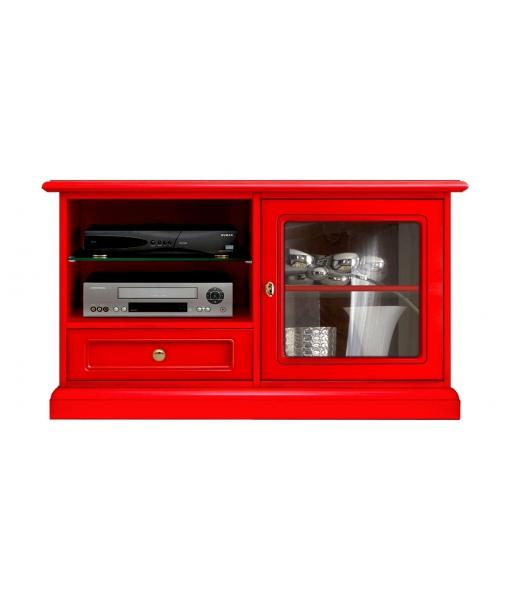 Promo rouge - Meuble TV