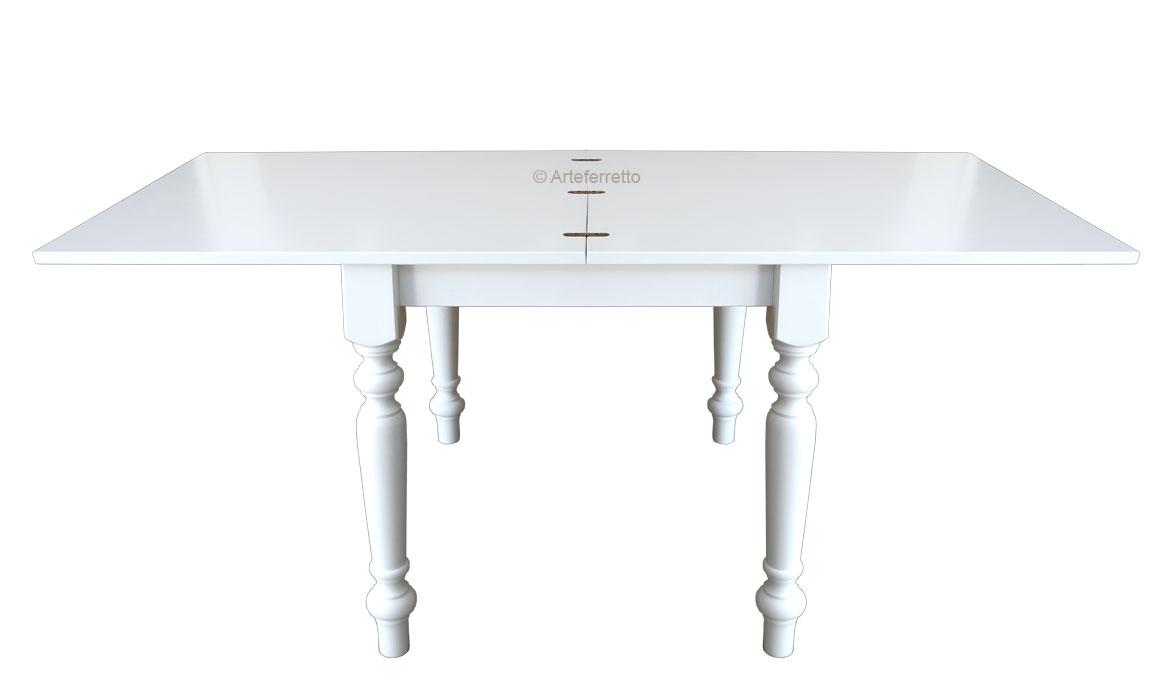 Table Rabattable Petit Espace table à manger pliante 100×100 cm