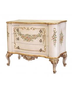 Meuble commode Fleur Vénitienne, commode classique, achat commode style classique