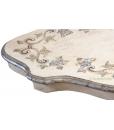 Table de salon galbée et peinte réf. SM-13