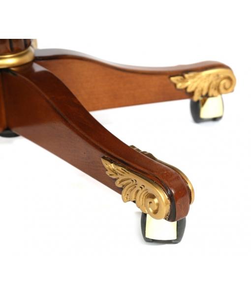 Détails en or fauteuil de direction Golden-Class_styl3