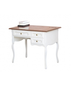 Bureau style provençal bicolore