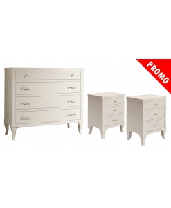 lot commode + chevets, commode, chevets, achat commode et chevets