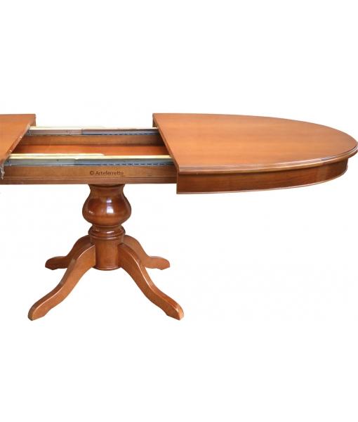 Système de prolongement Table à manger ovale réf. 447